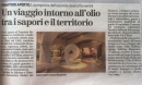 FRANTOIO BONAMINI ON NEWSPAPER!