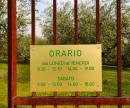 CAMBIO ORARIO (SABATO)